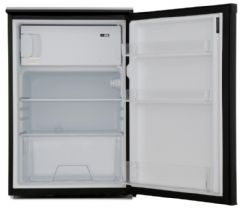 LEC A+ Rated 55cm Wide Fridge With 4 Star Freezer Box R5517B (Black)